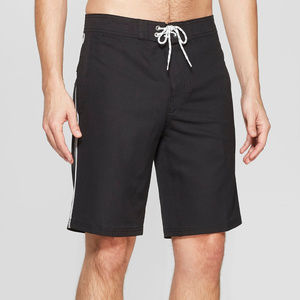"""Men's 10"""" Taped Board Shorts - Goodfellow & Co"""